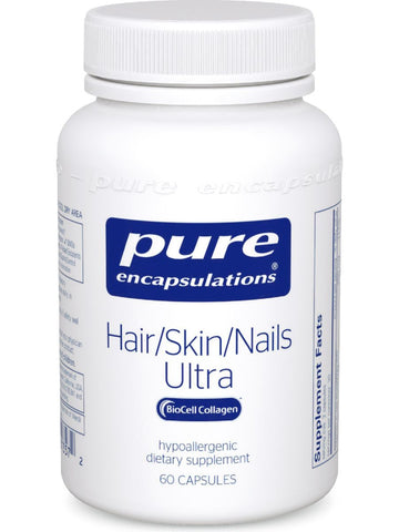 Pure Encapsulations, Hair/Skin/Nails Ultra, 60 vcaps