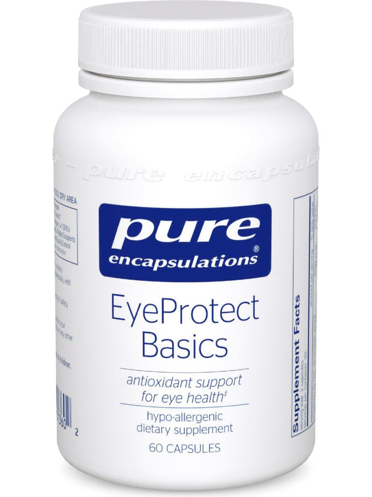 Pure Encapsulations, EyeProtect Basics, 60 vcaps