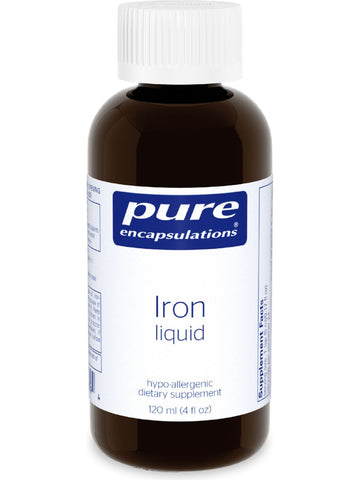 Pure Encapsulations, Iron Liquid, 4 fl oz