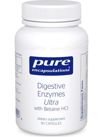 Pure Encapsulations, Digestive Enzymes Ultra w/ HCl, 90 caps