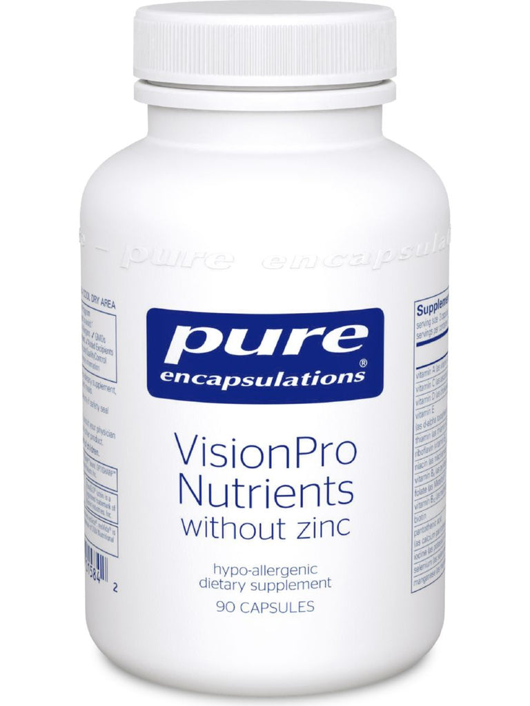 Pure Encapsulations, VisonPro Nutrients w/o zinc, 90 caps