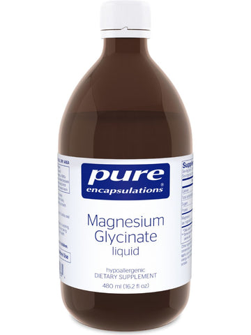 Pure Encapsulations, Magnesium Glycinate Liquid, 480 ml