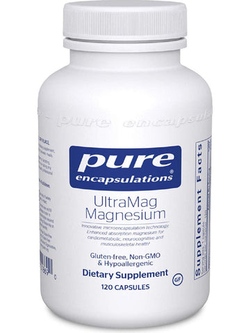 Pure Encapsulations, UltraMag Magnesium, 120 caps