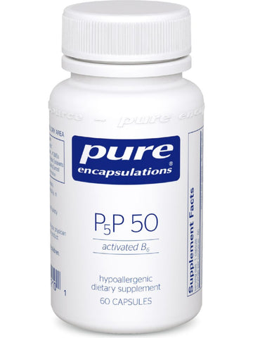 Pure Encapsulations, P5P50 (activated B-6), 60 vcaps