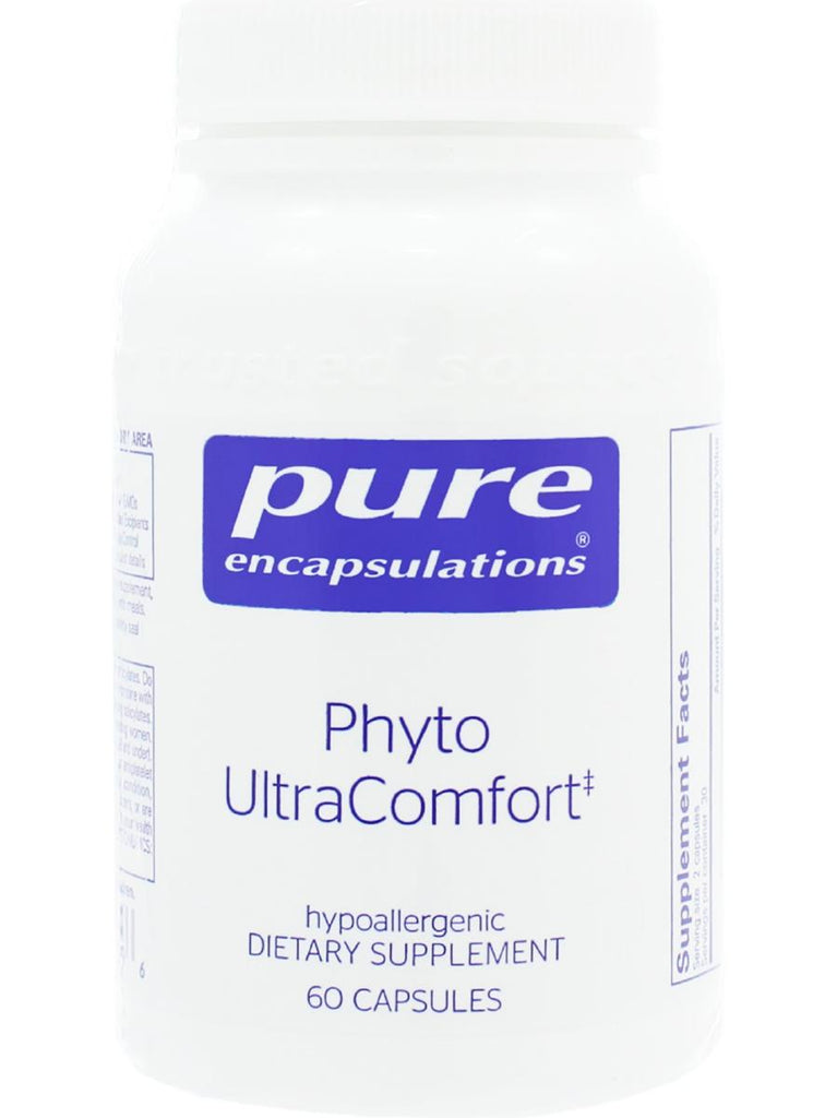 Pure Encapsulations, Phyto UltraComfort, 60 caps