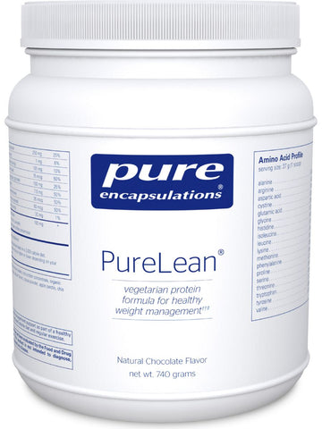 Pure Encapsulations, PureLean Protein Blend Chocolate, 740 g