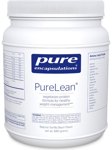 Pure Encapsulations, PureLean Protein Blend Vanilla, 680 g