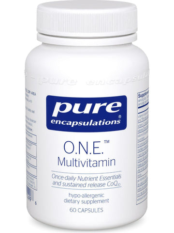 Pure Encapsulations, O.N.E. Multivitamin, 60 caps