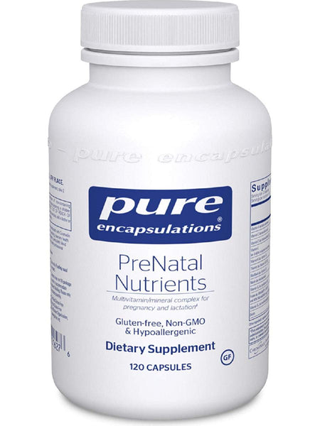 Pure Encapsulations, PreNatal Nutrients, 120 caps