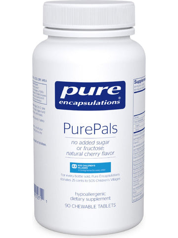 Pure Encapsulations, PurePals (Chewable), 90 tabs