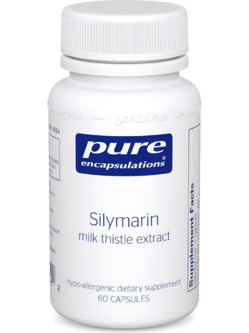 Pure Encapsulations, Silymarin, 250 mg, 60 vcaps