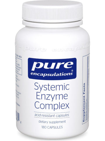 Pure Encapsulations, Systemic Enzyme Complex, 180 vcaps