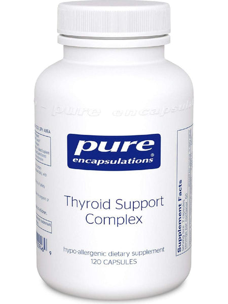 Pure Encapsulations, Thyroid Support Complex, 120 caps