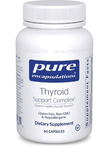 Pure Encapsulations, Thyroid Support Complex, 60 caps