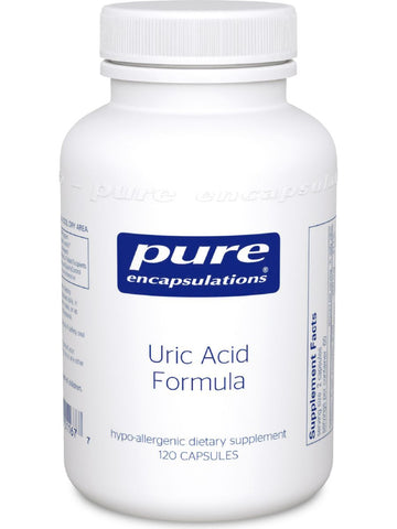 Pure Encapsulations, Uric Acid Formula, 120 vcaps