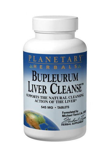 Planetary Herbals, Bupleurum Liver Cleanse, 72 ct