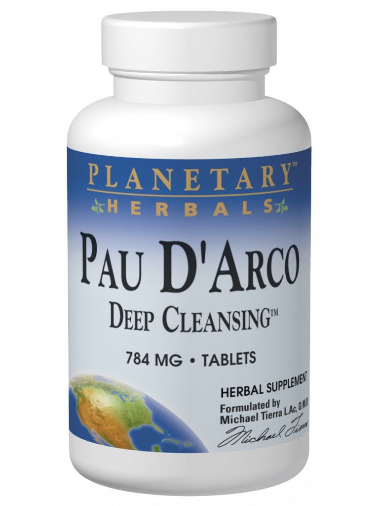 Pau D'Arco Deep Cleansing, 150 ct, Planetary Herbals
