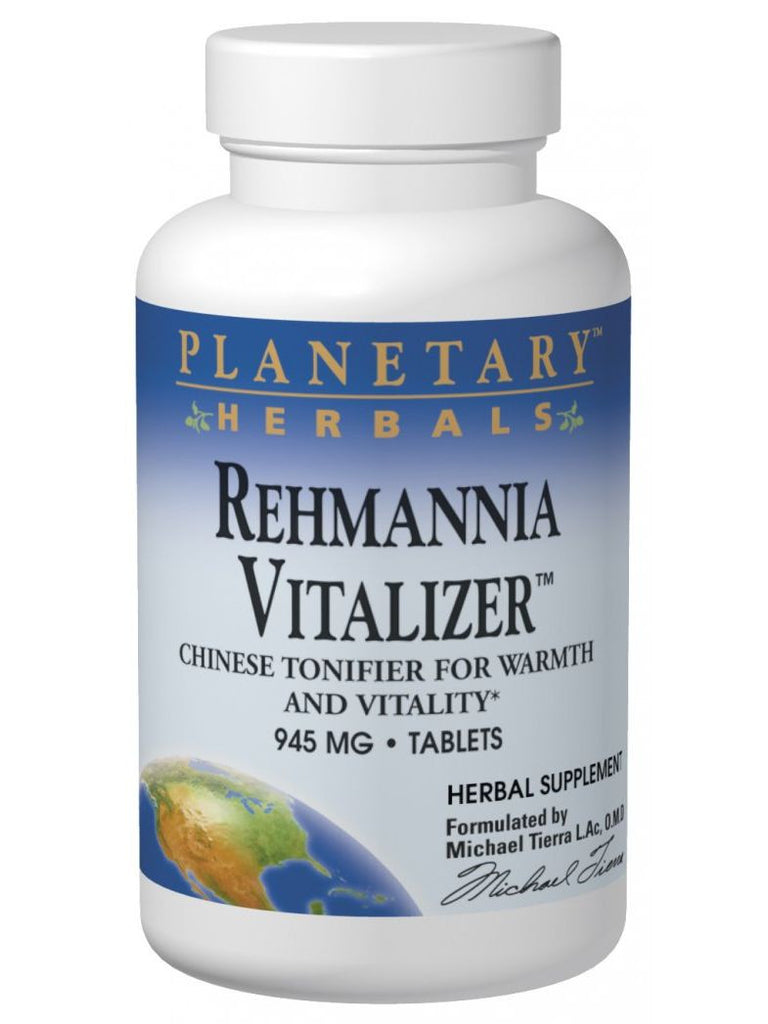 Planetary Herbals, Rehmannia Vitalizer, 150 ct