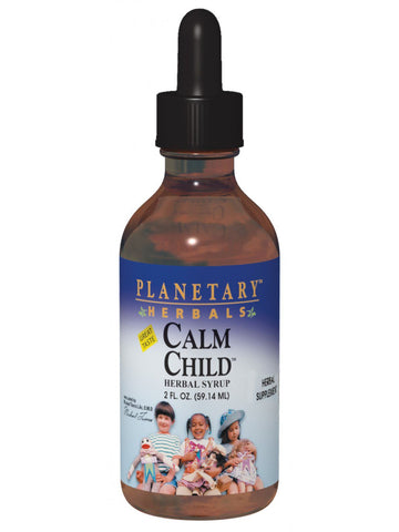 Planetary Herbals, Calm Child Herbal Syrup, 8 oz