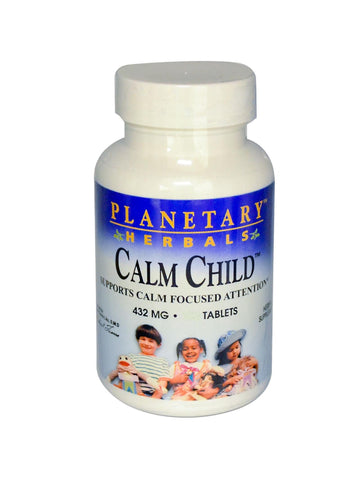 Planetary Herbals, Calm Child for Active Children, 150 ct