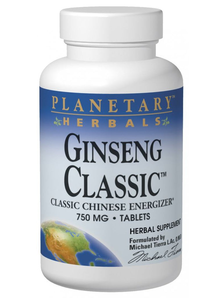 Planetary Herbals, Ginseng Classic, 60 ct