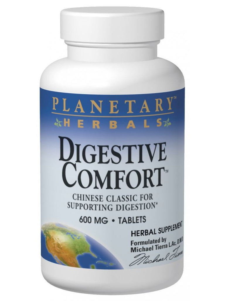 Planetary Herbals, Digestive Comfort, 60 ct
