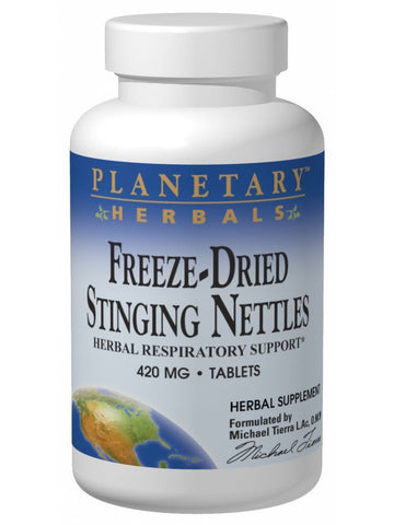 Planetary Herbals, Stinging Nettles Freeze-Dried 420mg, 120 ct