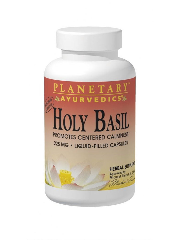 Planetary Ayurvedics, Holy Basil Supercritical Ext Full Spectrum 225mg, 60 ct