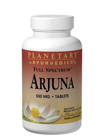 Planetary Ayurvedics, Arjuna Full Spectrum 550mg, 120 ct