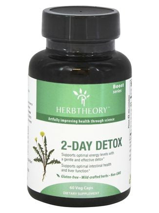 Herbtheory, 2-Day Detox, 60 vegicaps