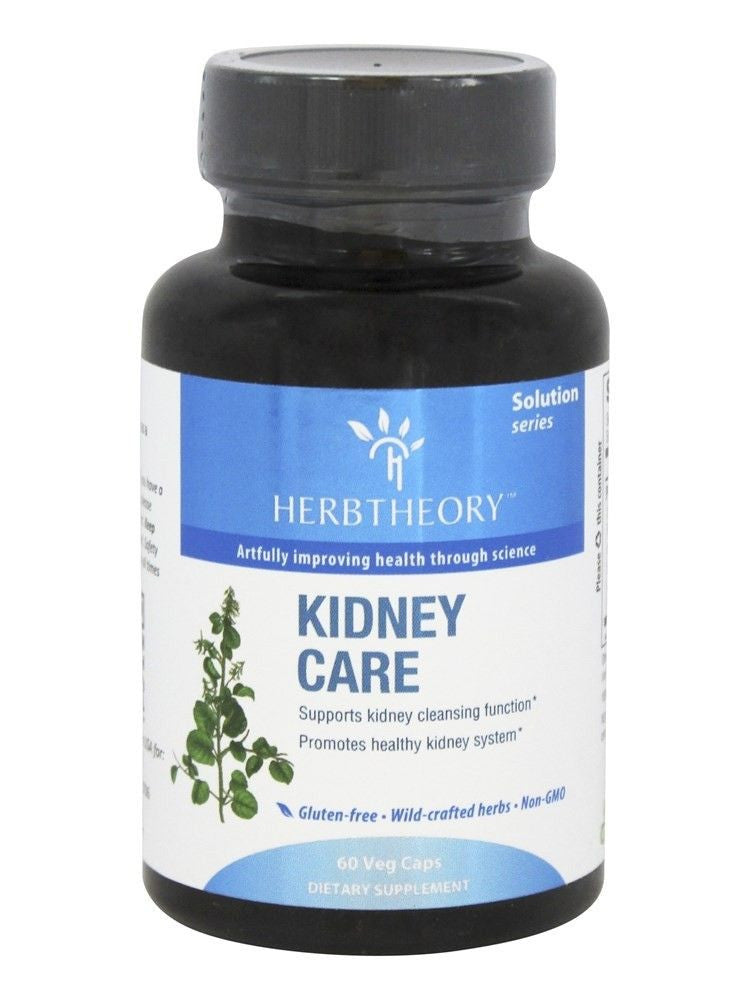Herbtheory, Kidney Care, 60 vegicaps