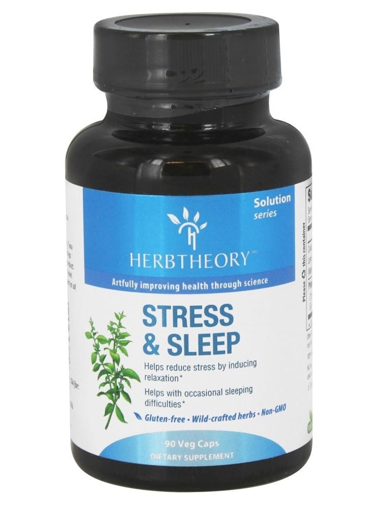Herbtheory, Stress & Sleep, 90 vegicaps