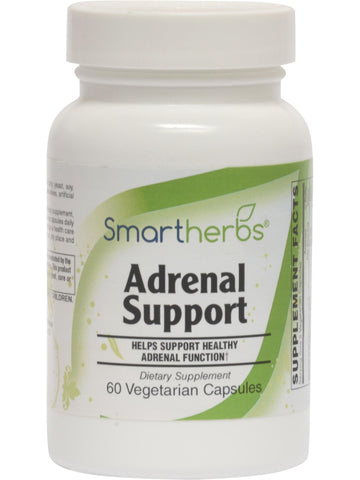 Smart Herbs, Adrenal Support, 60 ct