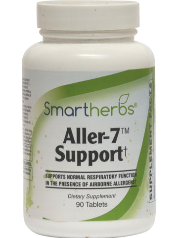 Smart Herbs, Aller-7 Support, 90 tabs