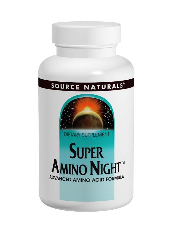 Source Naturals, Super Amino Night, 240 ct