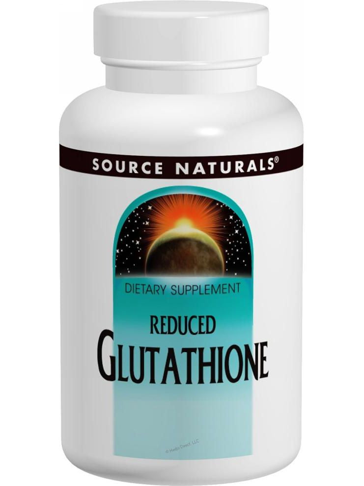 Source Naturals, Glutathione Reduced, 50mg, 60 ct
