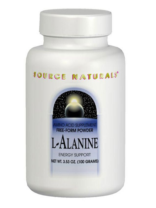 Source Naturals, L-Alanine powder 100 gm, 100 gm