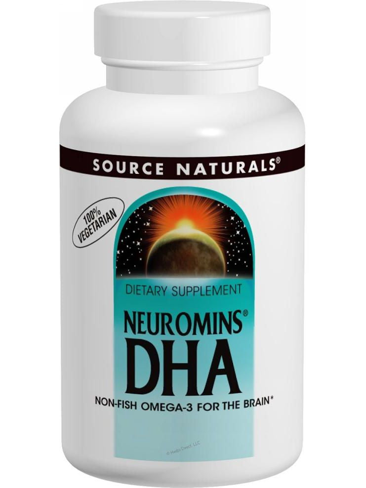 Source Naturals, DHA (Neuromins), 100mg, 60 softgels