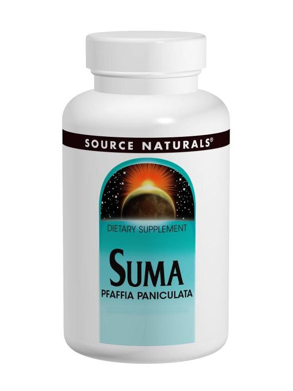 Source Naturals, Suma from Brazil, 500mg, 50 ct