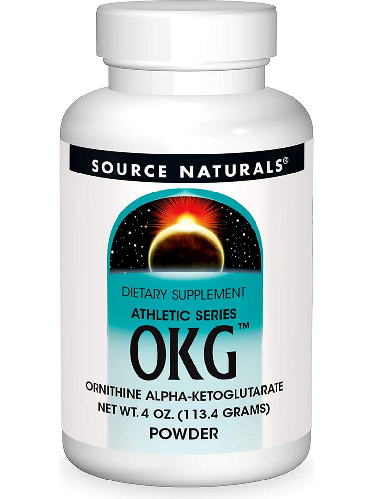 Source Naturals, OKG Ornithine Ketoglutarate powder, 4 oz