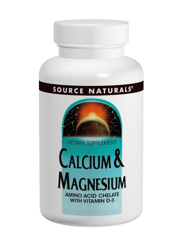 Source Naturals, Cal/Mag Chelate, 300mg, 250 ct