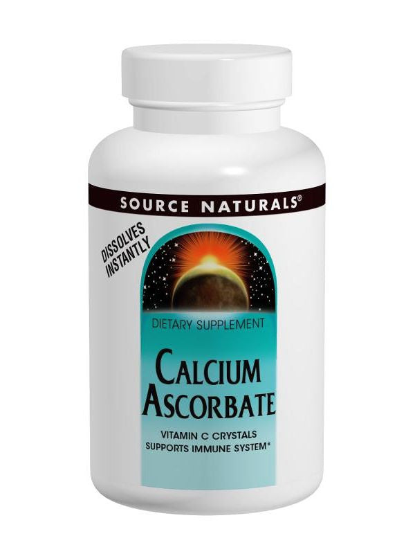 Source Naturals, Calcium Ascorbate Buffered C Crystals, 8 oz