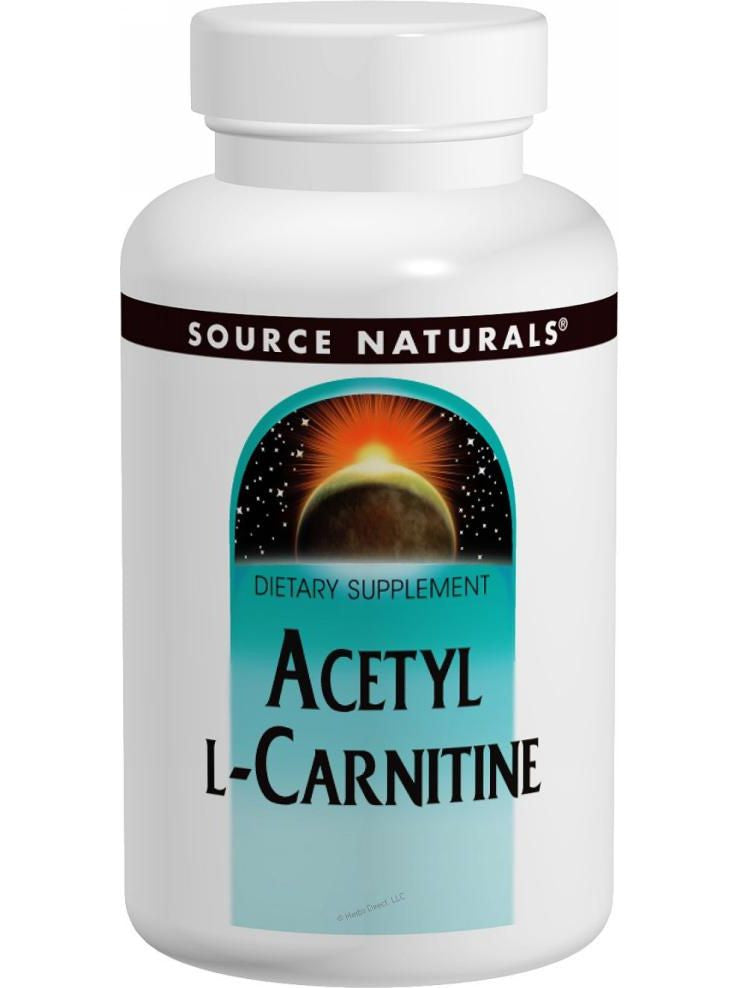 Source Naturals, Acetyl L-Carnitine, 500mg, 60 ct