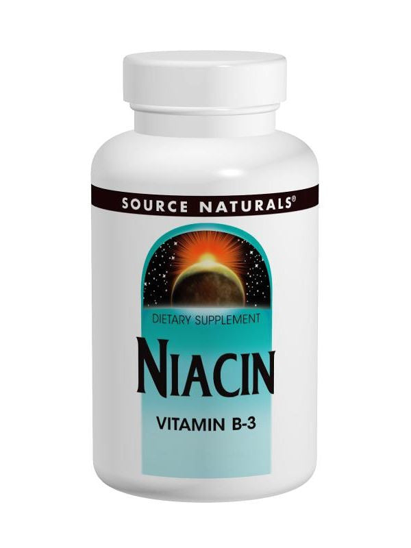 Source Naturals, Niacin Vitamin B-3, 100mg, 250 ct