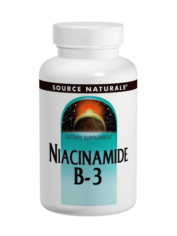 Source Naturals, Niacinamide Vitamin B-3, 1500mg, 100 ct