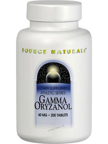 Source Naturals, Gamma Oryzanol, 60mg, 200 ct