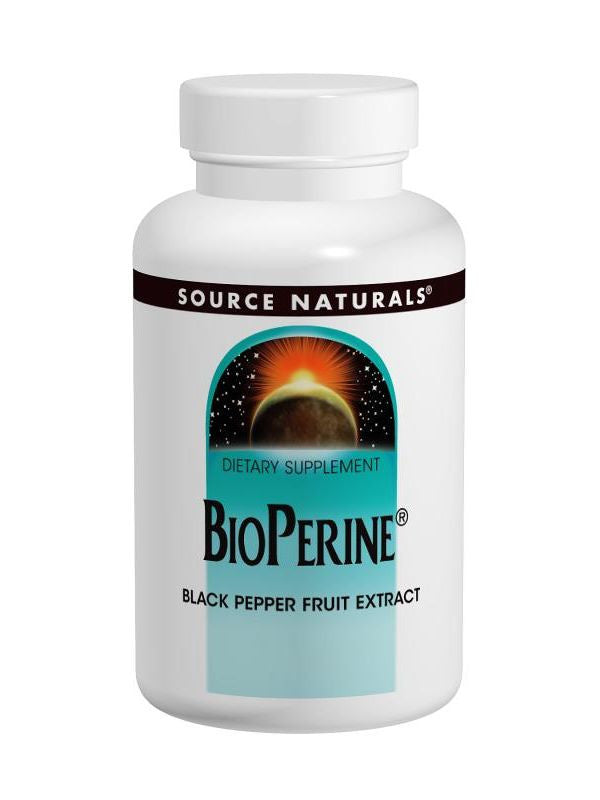 Source Naturals, BioPerine, 10mg, 60 ct