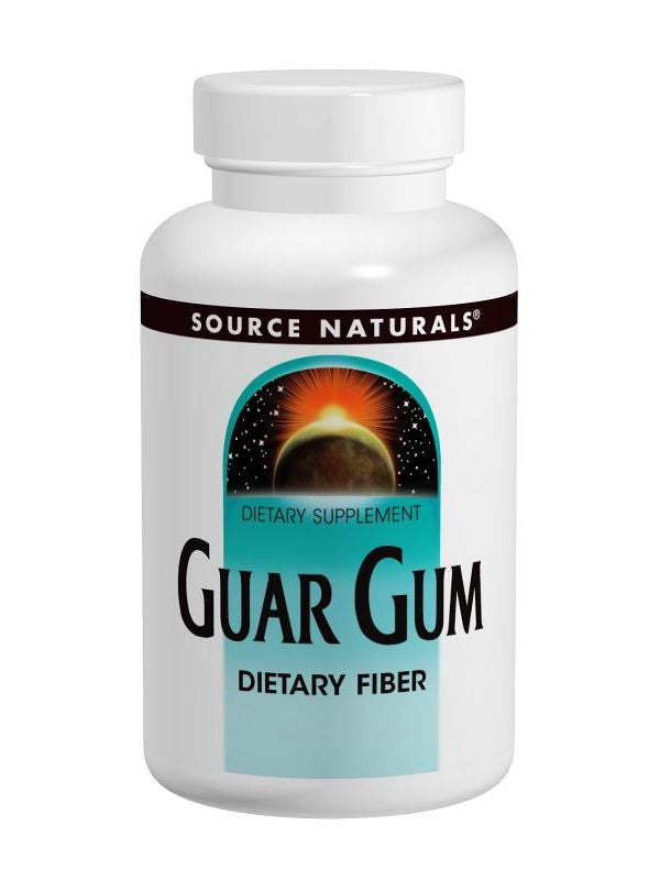 Source Naturals, Guar Gum Dietary Fiber powder, 16 oz
