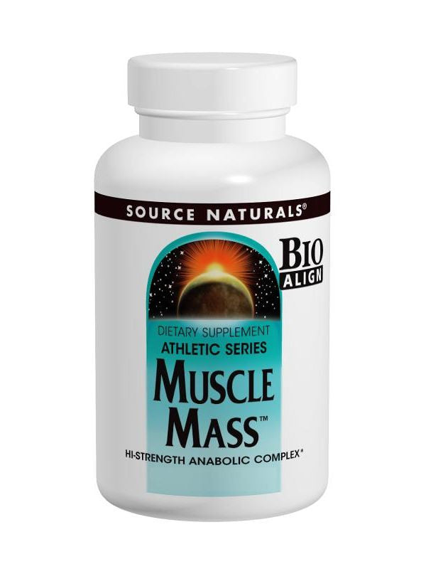 Source Naturals, Muscle Mass Anabolic Complex Bio-Aligned, 60 ct