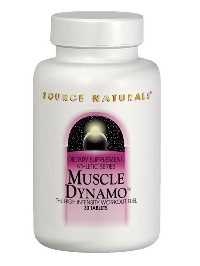 Source Naturals, Muscle Dynamo Workout Fuel, 60 ct
